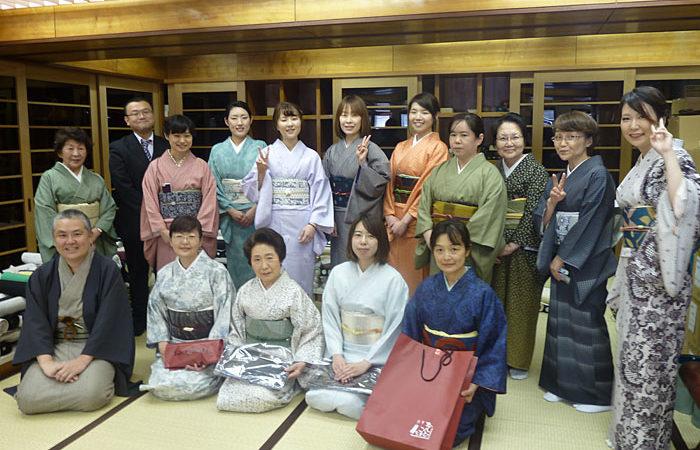 2016.4.29(sat) 江戸小紋、粋な夏の装い、カジュアルコーディネートが開催されました。