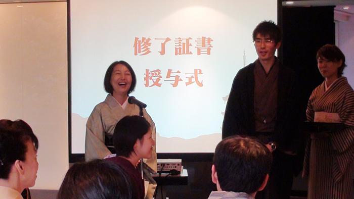 2012.10.07(sun) こまちレッスン修了式