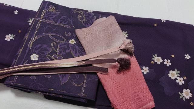 着物に締める「帯」。綺麗に畳めていますか?